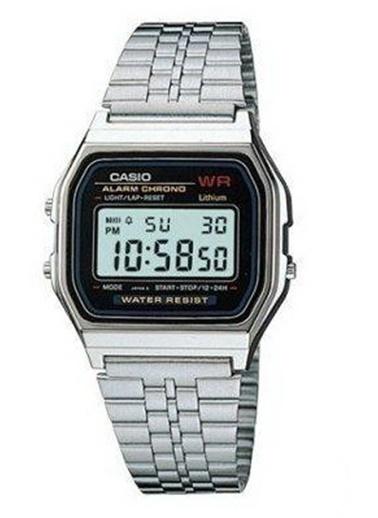 Casio A159W-N1Df Unisex Kol Saati Siyah